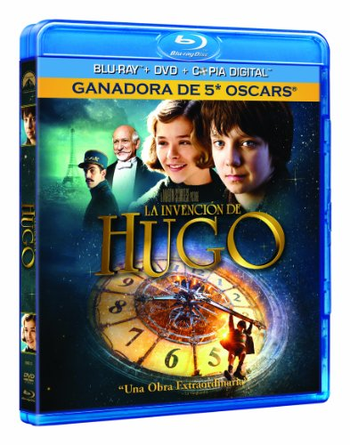 La Invención De Hugo(Bd Combo + Copia Digital) [Blu-ray]