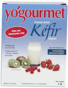 Yogourmet Freeze Dried Kefir Starter, 1 oz. box  (Pack of 2)