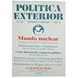 img - for Politica Exterior (Mundo Nuclear, Volume XXII Number 125) book / textbook / text book