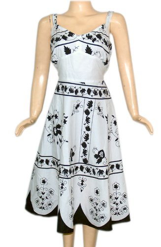 Hot & Sexy Dress Rajrang India Vintage Block Printed Hyppie Gypsi Dance Belly Comforter White Cotton Comfortable Sundress Spaghetti Strap Frock
