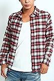 インプローブス imp ネルシャツ チェックシャツ カジュアルシャツ F サイズS