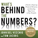 What's Behind the Numbers?: A Guide to Exposing Financial Chicanery and Avoiding Huge Losses in Your Portfolio (       UNABRIDGED) by John Del Vecchio, Tom Jacobs Narrated by Tom Jacobs