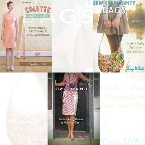 Sewing Handbook 3 Books Bundle Collection (Sew Serendipity Bags: Fresh and Pretty Projects to Sew and Love,The Colette Sewing Handbook: 5 Fundamentals for a Great Sewing Experience) (The Colette Sewing Handbook compare prices)