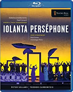 Tchaikovsky: Iolanta / Igor Stravinsky: Persephone [Blu-ray] [Import]