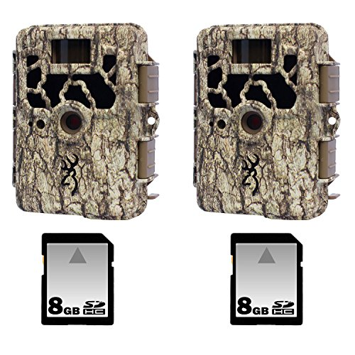 Browning Spec Ops Xr Trail Camera Two Pack With Two 8Gb Sd Memory Cards