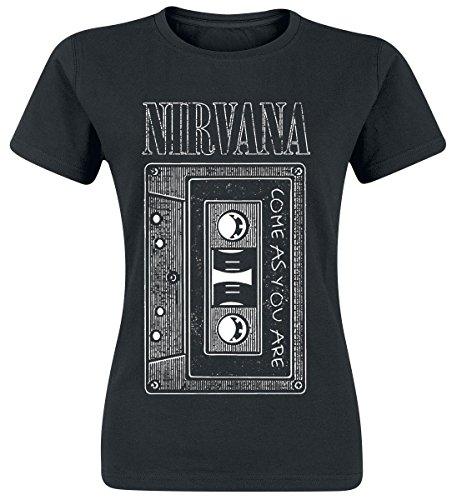 Nirvana As You Are Tape Maglia donna nero L