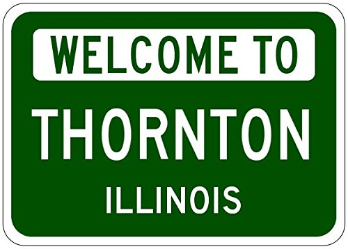 Thornton City Sign