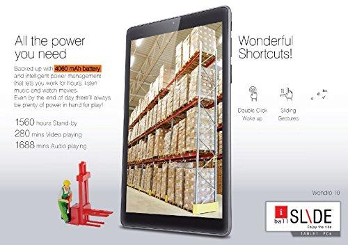 iBall Slide Wondro 10 Tablet (10.1 in...