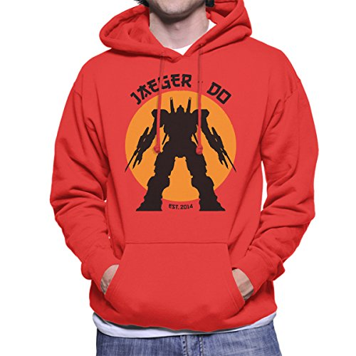 Jaeger Do Pacific Rim Karate Kid Men's Hooded Sweatshirt