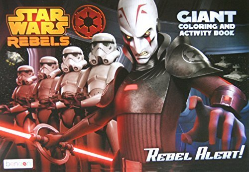 "Star Wars Rebels Giant Coloring and Activity Book - 11"" x 16"""