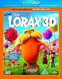 Dr Seuss' The Lorax (Blu-ray 3D + Blu-ray + DVD) [Region Free]