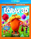 Dr Seuss' The Lorax (Blu-ray 3D + Blu-ray + DVD) [Region Free]
