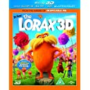 Dr Seuss' The Lorax (Blu-ray 3D + Blu-ray + DVD)