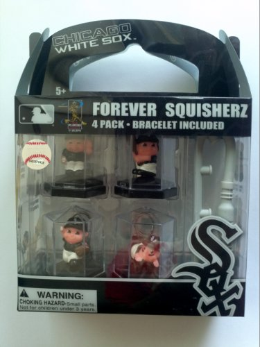Chicago White Sox Forever Squisherz Collectibles Bag Charm / Bracelet
