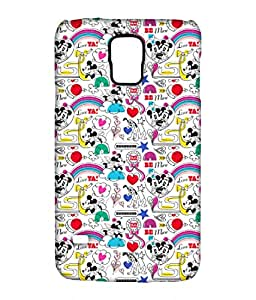 Block Print Company Forever Together Phone Cover for Samsung S5