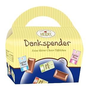 Confiserie Heidel Dankspender , 1er Pack (1 x 75 g Packung)