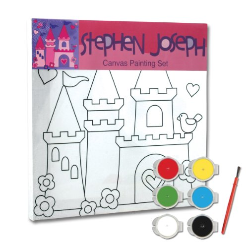 Stephen Joseph Castle Craft Canvas Set