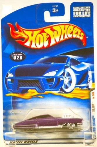 2000 - Mattel / Hot Wheels - Evil Twin (Purple & Chrome) - 2001 First Editions #16 of 36 Cars - Collector #028 - MOC - Limited Edition - Collectible - 1