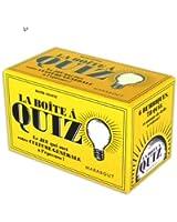 La boîte à quizz : Le jeu qui met votre culture générale à l'épreuve !