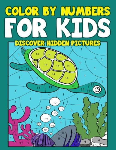 Color By Numbers for Kids: Discover Hidden Pictures: Adventure & Animal Activity Book & Coloring Book For Kids Ages 6-8 (Color By Number Books for Children) (Volume 1) (Paint By Numbers Book compare prices)