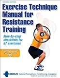 National Strength and Conditioning Association Exercise Technique Manual for Resistance Training (Book & DVD)