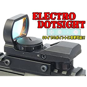 MW3�X�^�C��!!AIMSHOT�^�C�v ELECTRO DOTSIGHT (�h�b�g�p�^�[��4�ω��j