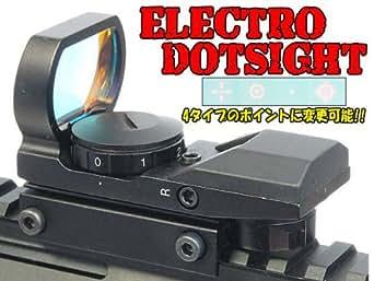 MW3スタイル!!AIMSHOTタイプ ELECTRO DOTSIGHT (ドットパターン4変化)