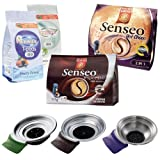 Senseo Padhalter + Pads-Set New Generation f�r Hot Choco, Espresso, Teepads, MHD 31.07.12