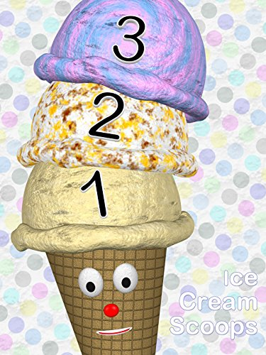 Learn Numbers with Ice Cream Cone Scoops
