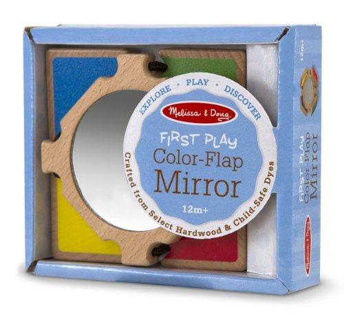 Melissa & Doug Color-Flap Mirror Toy, Kids, Play, Children front-754442