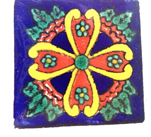 commerce-equitable-handpainted-glazed-talavera-jour-mexicain-mort-dia-los-muerto-ceramic-tile