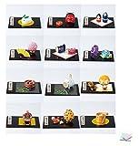 縁起物四季の玄関飾り 12ヶ月セット 【置物】 【縁起物】 / お楽しみグッズ(キッチン用品)付きセット