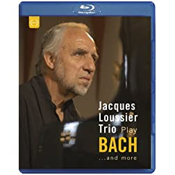 Jacques Loussier Trio play Bach and more [Blu-ray]
