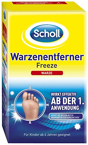 scholl freeze warzenentferner 1er pack 1 x 1 st ck. Black Bedroom Furniture Sets. Home Design Ideas