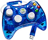 Rock Candy Controller - Blue (Microsoft Licensed) (Xbox 360)