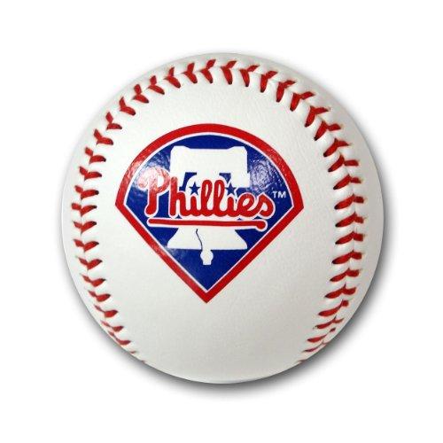 MLB Philadelphia Phillies Baseball with Team Logo