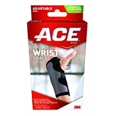 Ace Splint Wrist Brace, Reversible, One Size Adjustable by ACE