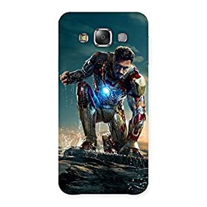 Delighted Ready to Sky Back Case Cover for Galaxy E7