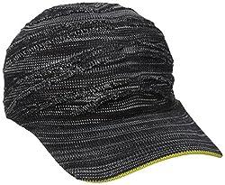 Kangol Men's Speed Knit Adj Space Cap, Black, One Size
