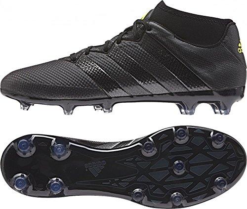 Adidas Ace 16.2 Prime Scarpe da calcio allenamento, Uomo, Nero (Mesh  Cblack/Cblack/Syello), 44