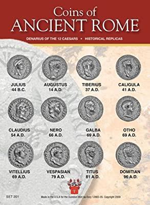 (DM 201) Coins of Ancient Rome - The 12 Caesars