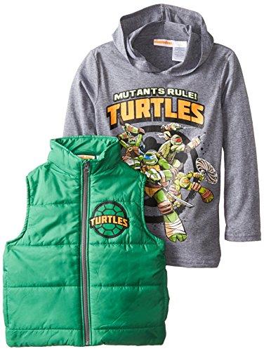 """7 /""""NEW/"""" Teenage Mutant Ninja Turtles TMNT HOODIE SWEATSHIRT JACKET Boys Sz S 6"""