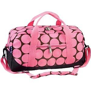 Wildkin Big Dots Duffel Bag, Pink