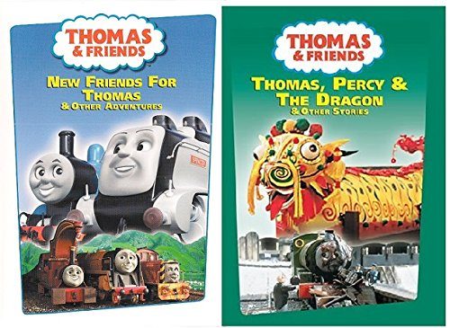 2 DVD Thomas Set - Thomas & Friends Wooden Tank Train Engine - Brand New Loose (Mr Kelly Car Wash compare prices)