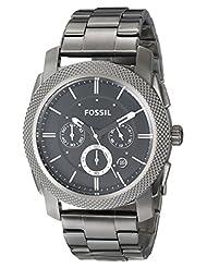 Fossil Analog Black Dial Men's Watch - FS4662