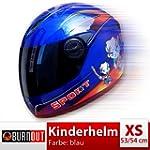 Kinderhelm blau XS 53 54 cm Helm Inte...