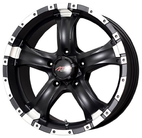 MB Wheels Chaos Matte Black - 15 X 8 Inch Wheel