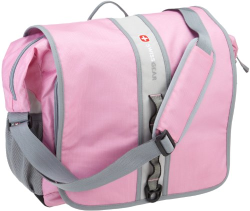 SwissGear SA1172 Pink and Grey Messenger