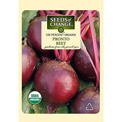 Seeds of Change Certified Organic Beet, Pronto - 1.8 grams, 150 Seeds Pack