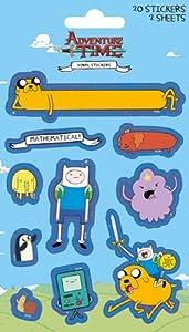 Adventure Time Finn and Jake Vinyl Sticker Pack